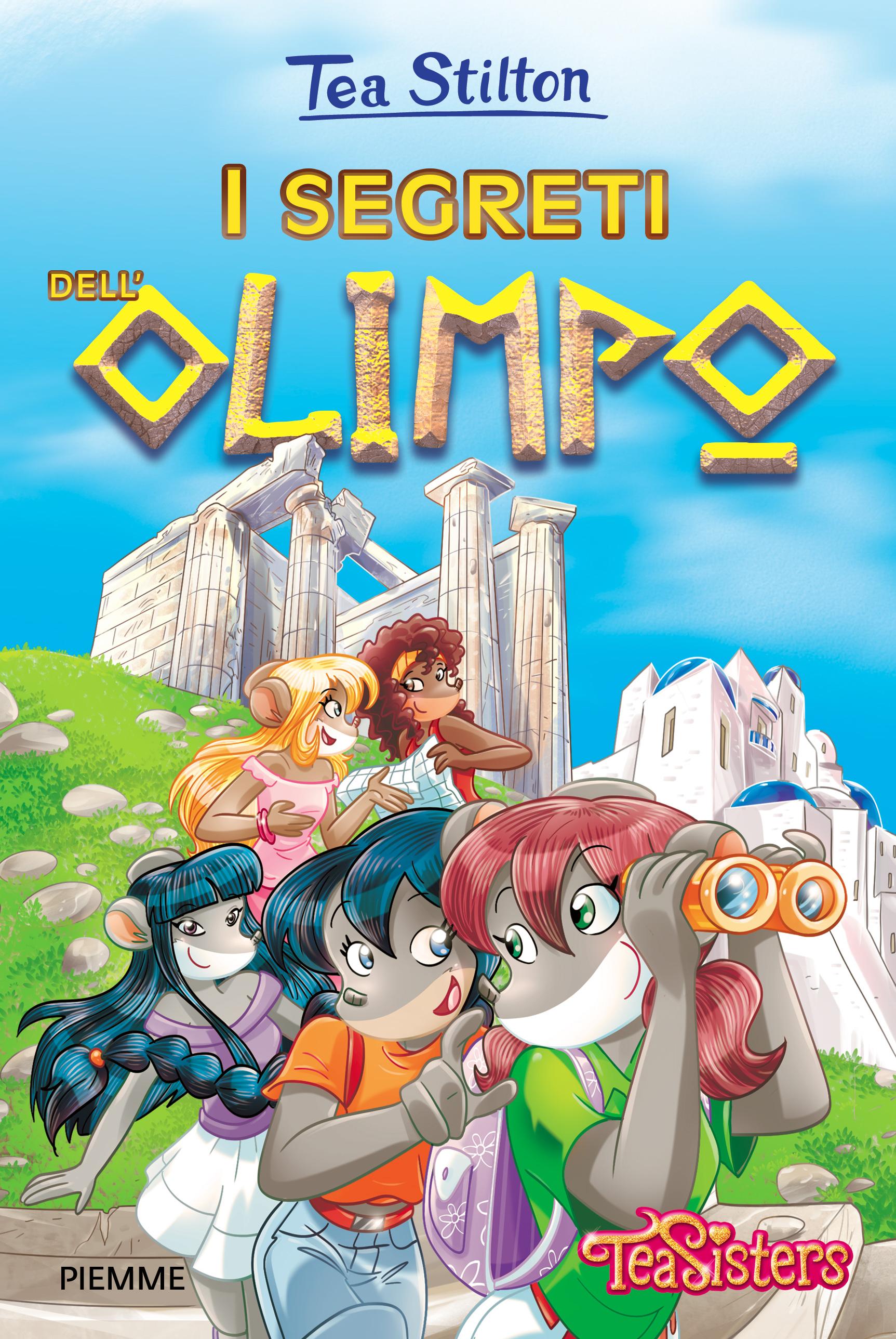 Letto A Castello Olimpo.I Segreti Dell Olimpo Tea Sisters I Libri Di Geronimo Stilton