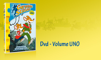 GERONIMO STILTON in Dvd - Volume UNO
