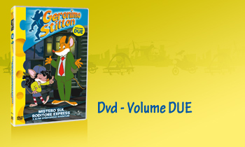 GERONIMO STILTON in Dvd - Volume DUE