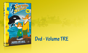 GERONIMO STILTON IN DVD - Volume TRE