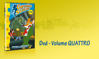 GERONIMO STILTON IN DVD - Volume QUATTRO