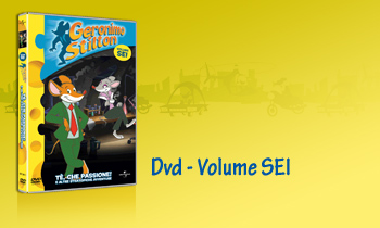 GERONIMO STILTON IN DVD - Volume SEI