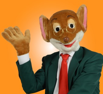 Geronimo Stilton in Pelliccia e Baffi all'International Children's Rights Festival