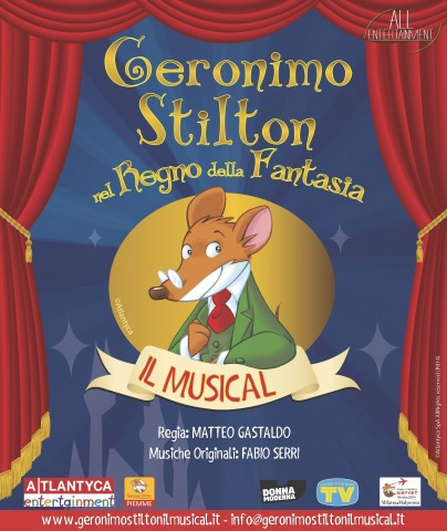 Il musical Geronimo Stilton nel Regno della Fantasia in scena a Roma!
