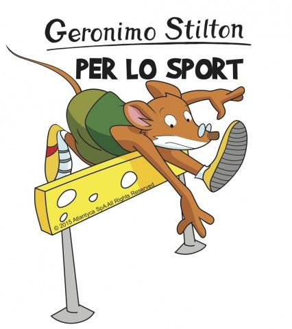 Geronimo Stilton in Pelliccia e Baffi ospite a Expo per lo Sport!