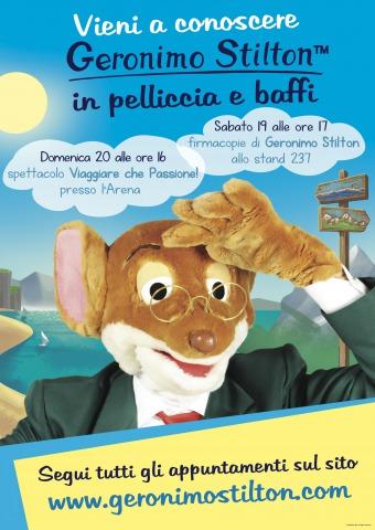 Geronimo Stilton in Pelliccia e Baffi a Modena