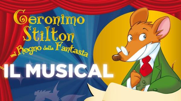 Il musical Geronimo Stilton nel Regno della Fantasia in scena a Saronno!