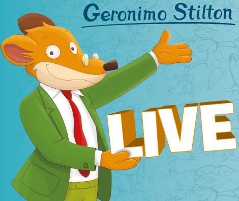 Geronimo Stilton in Pelliccia e Baffi a Roma per l'Earth Day!