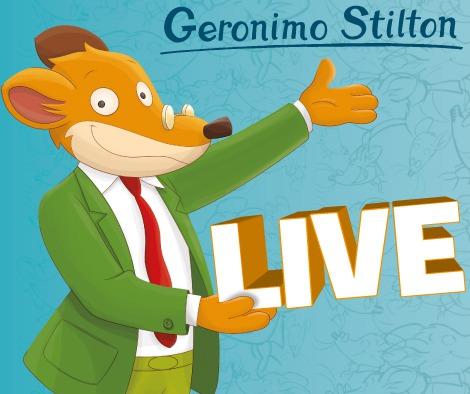 Geronimo Stilton in Pelliccia e Baffi a Roma per l'Earth Day!