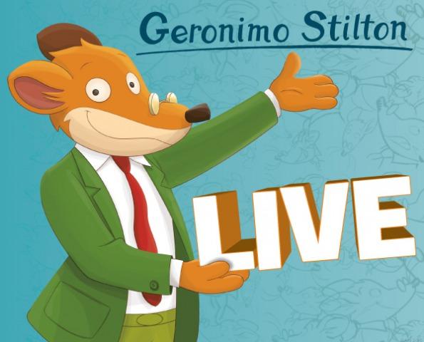Geronimo Stilton in Pelliccia e Baffi a Malpensa Aeroporto