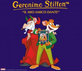Geronimo Stilton in pelliccia e baffi a Rimini