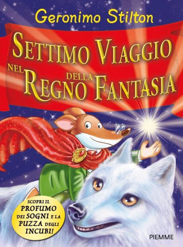 Geronimo presenta il Settimo viaggio nel Regno della Fantasia a Pordenonelegge.kids