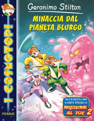 GERONIMO E TEA STILTON AL SALONE DEL LIBRO