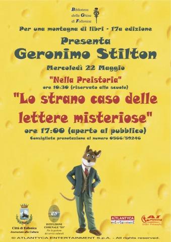 Geronimo Stilton ospite di