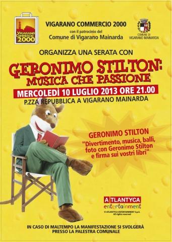 Musica che Passione, con Geronimo Stilton!