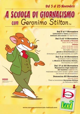 A scuola di giornalismo con Geronimo Stilton, a San Martino in Strada!