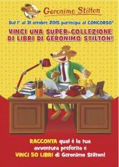 Vinci una super-collezione di libri di Geronimo Stilton!
