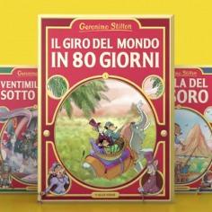Le più grandi storie della letteratura raccontate da Geronimo Stilton!