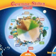 La stratopica APP di Geronimo Stilton!