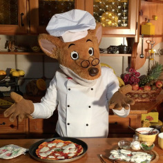 In cucina con Geronimo: la pizza!