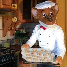 In cucina con Geronimo: i biscottoni al cioccolato!