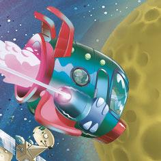 Topo-esploratore dello Spazio