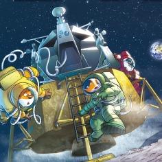 Il primo topo sulla Luna