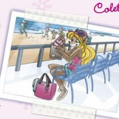 La stratopica cartolina di Colette!