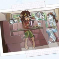 La stratopica cartolina di Pam!