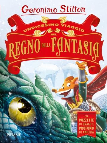 L'Undicesimo viaggio nel Regno della Fantasia è arrivato in libreria!