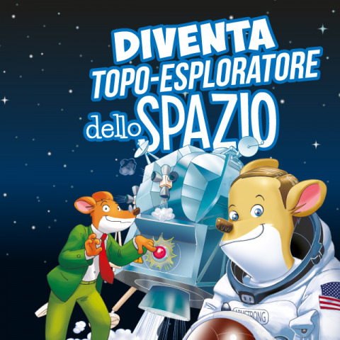 Novità coi baffi per i futuri topo-esploratori dello spazio!