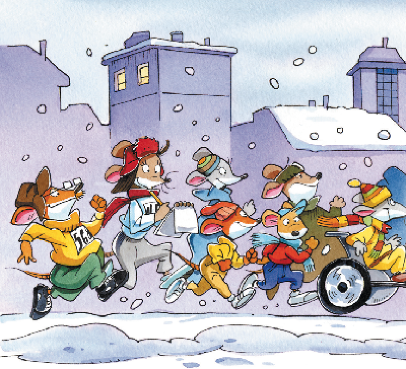 Ecco le vostre avventure sulla neve!