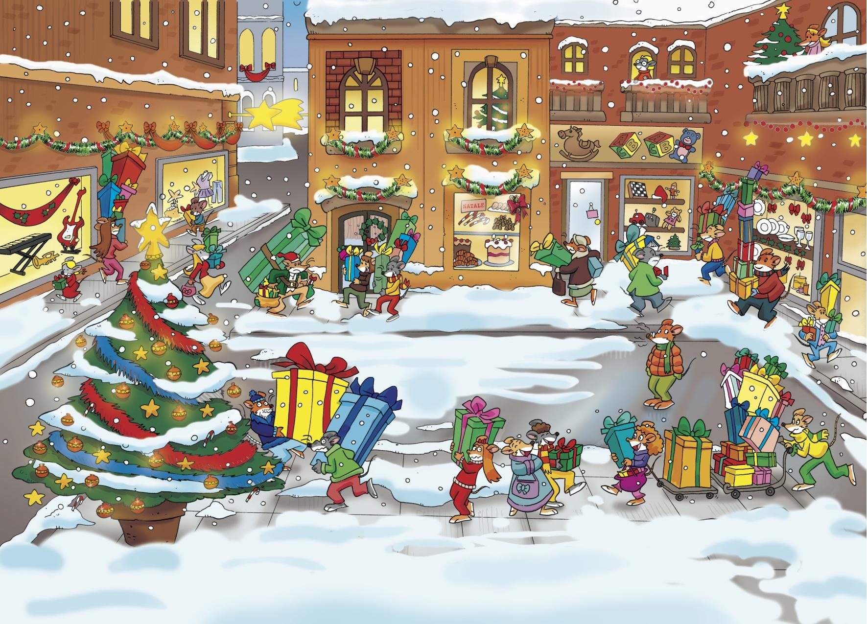 Le Vostre Rime Di Natale Sul Topoblog Topoblog Geronimo Stilton