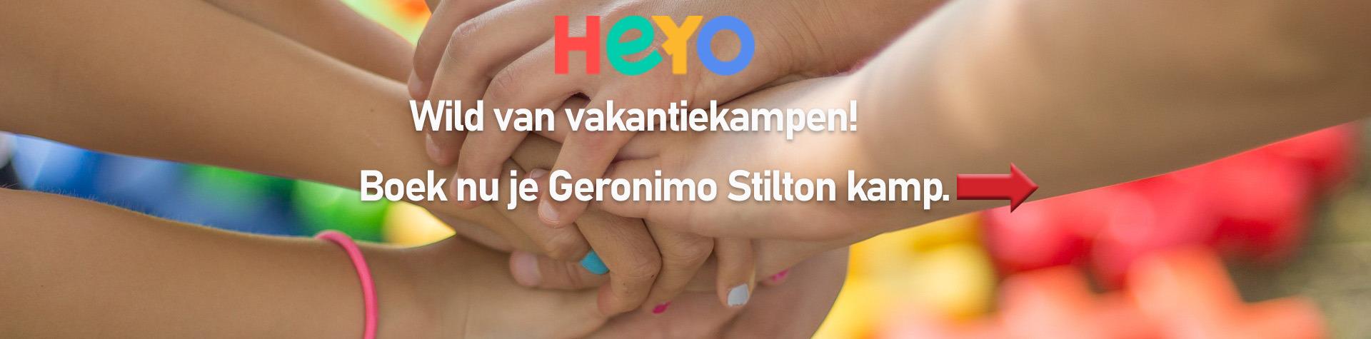 Bedenk je eigen avontuur met Geronimo!
