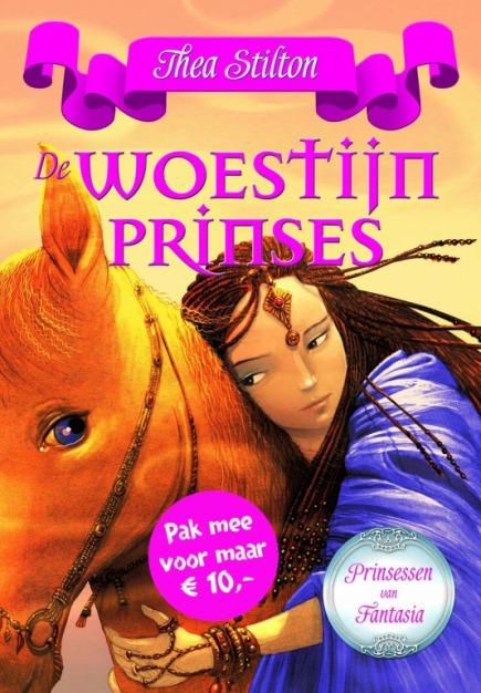 De Woestijnprinses (paperback)