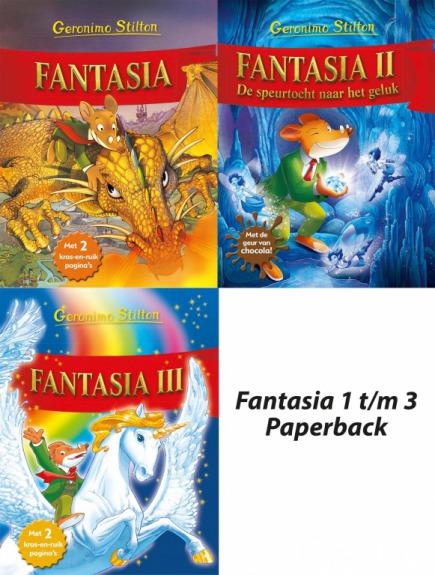 Fantasia paperback pakket