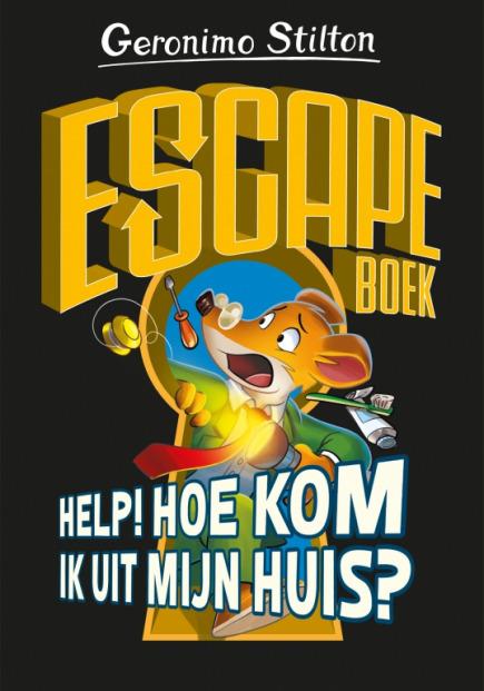 Escapeboek - Help! Hoe kom ik mijn huis uit?