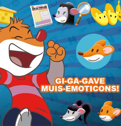 Muizenissige emoticons