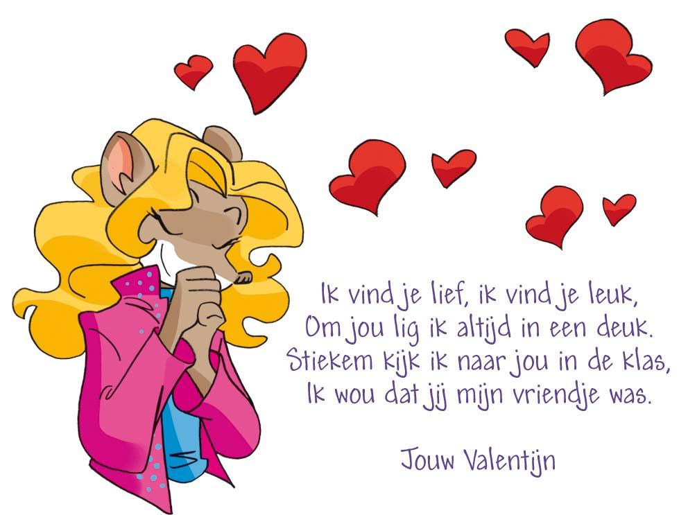 Nieuw Mijn Valentijn: de leukste gedichten: Muisblog - Geronimo Stilton RQ-28