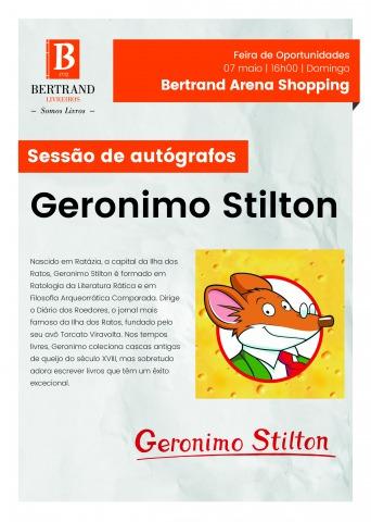 Sessão de Autógrafos com o Geronimo Stilton