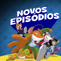 Novos Episódios do Geronimo Stilton no Canal Panda!