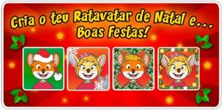 O Natal está quase aí... cria o teu Ratavatar Especial!