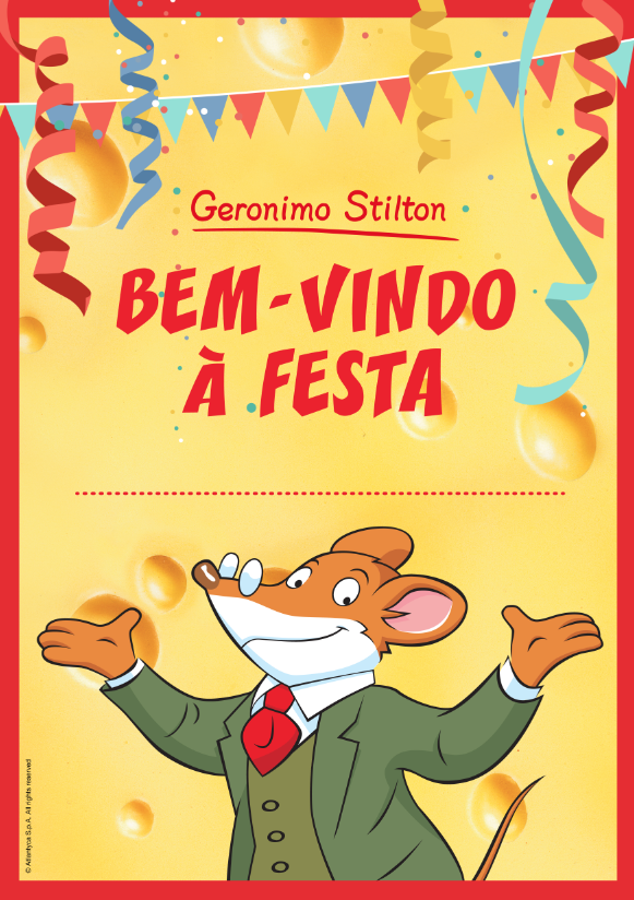 Super Poster Para a Tua Festa de Anos!