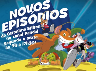 Novos Episódios do Geronimo Stilton no Canal Panda!