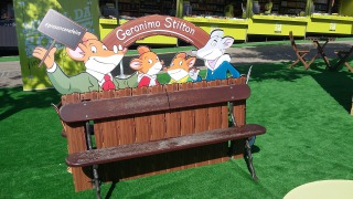 Geronimo Stilton na Feira do Livro!