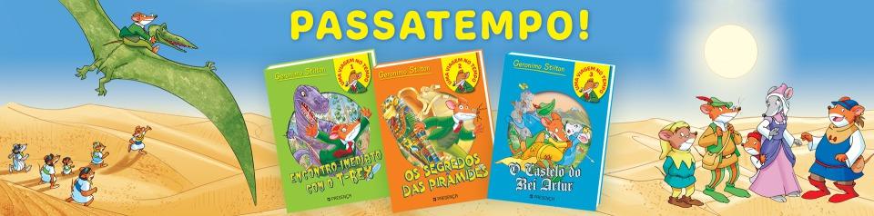 Ganha livros do Geronimo!