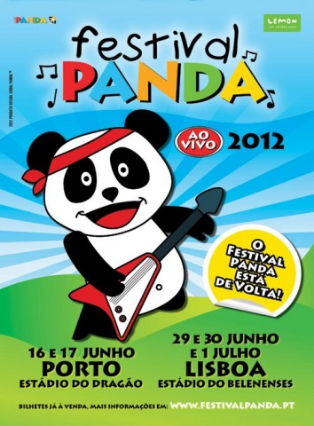 Ganha convites para o Festival Panda!