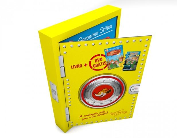 Caixa-Presente: Os Segredos de Ratázia e um DVD de oferta!