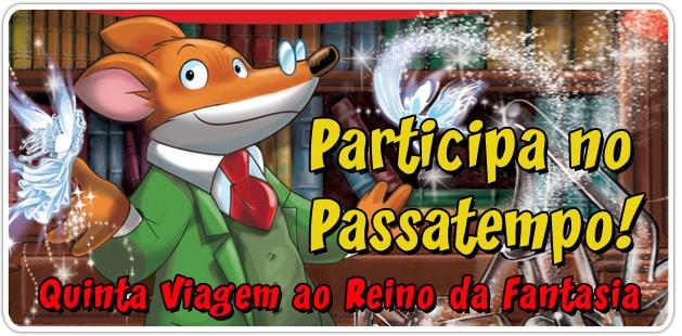 PASSATEMPO: Ganha a Quinta Viagem ao Reino da Fantasia!