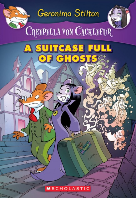 Creepella von Cacklefur #7: A Suitcase Full of Ghosts